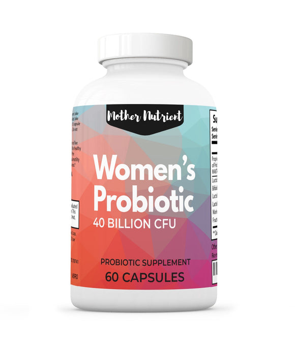 Women's Probiotic 40 Billion - Mother Nutrient