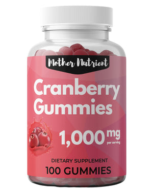Cranberry Gummies - Mother Nutrient
