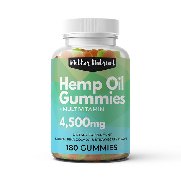 Hemp Gummies - Mother Nutrient