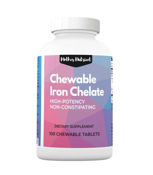 Chewable Iron Chelate - Mother Nutrient