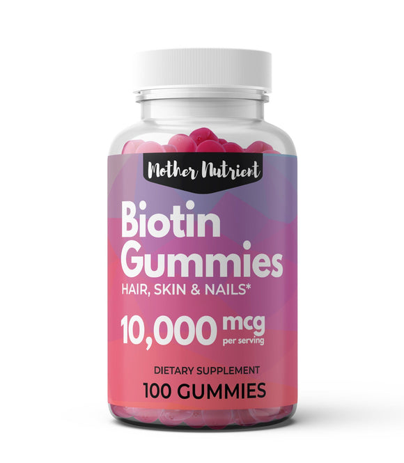 Biotin Gummies - Mother Nutrient