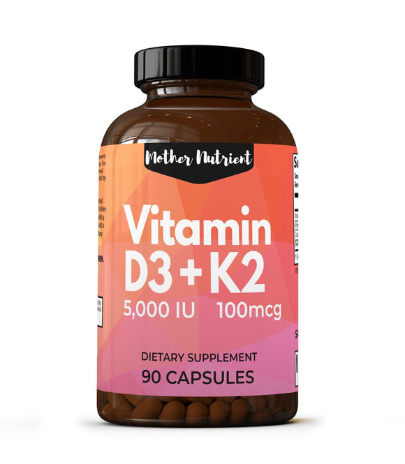 Vitamin D3 + K2 - Mother Nutrient