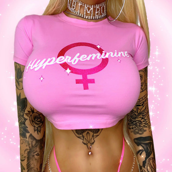 Hyperfeminine Crop Top