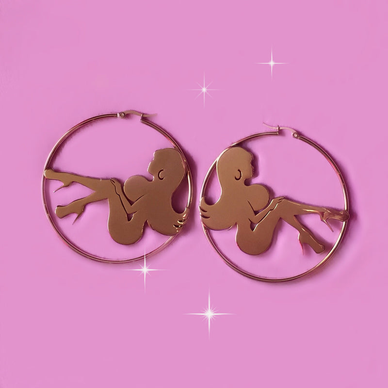 Valley Girl Hoop Earrings
