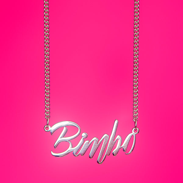 Bimbo Pendant Necklace