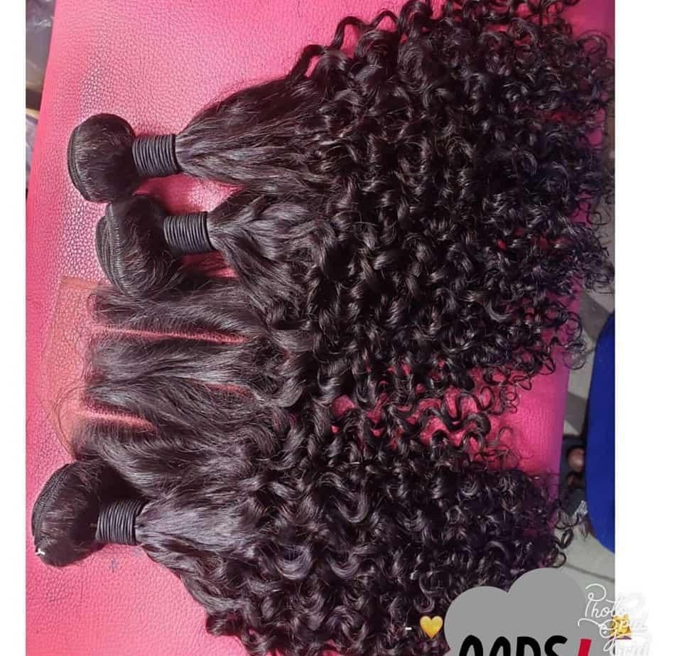 Fumi Kinky curls wig and frontal