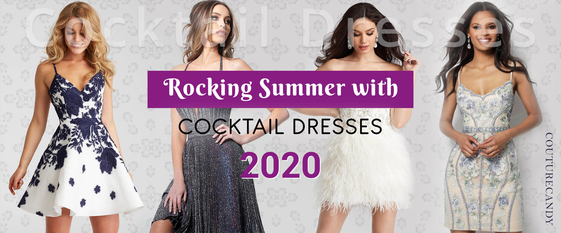 Gorgeous Summer Cocktail Dresses & Top Trends 2020