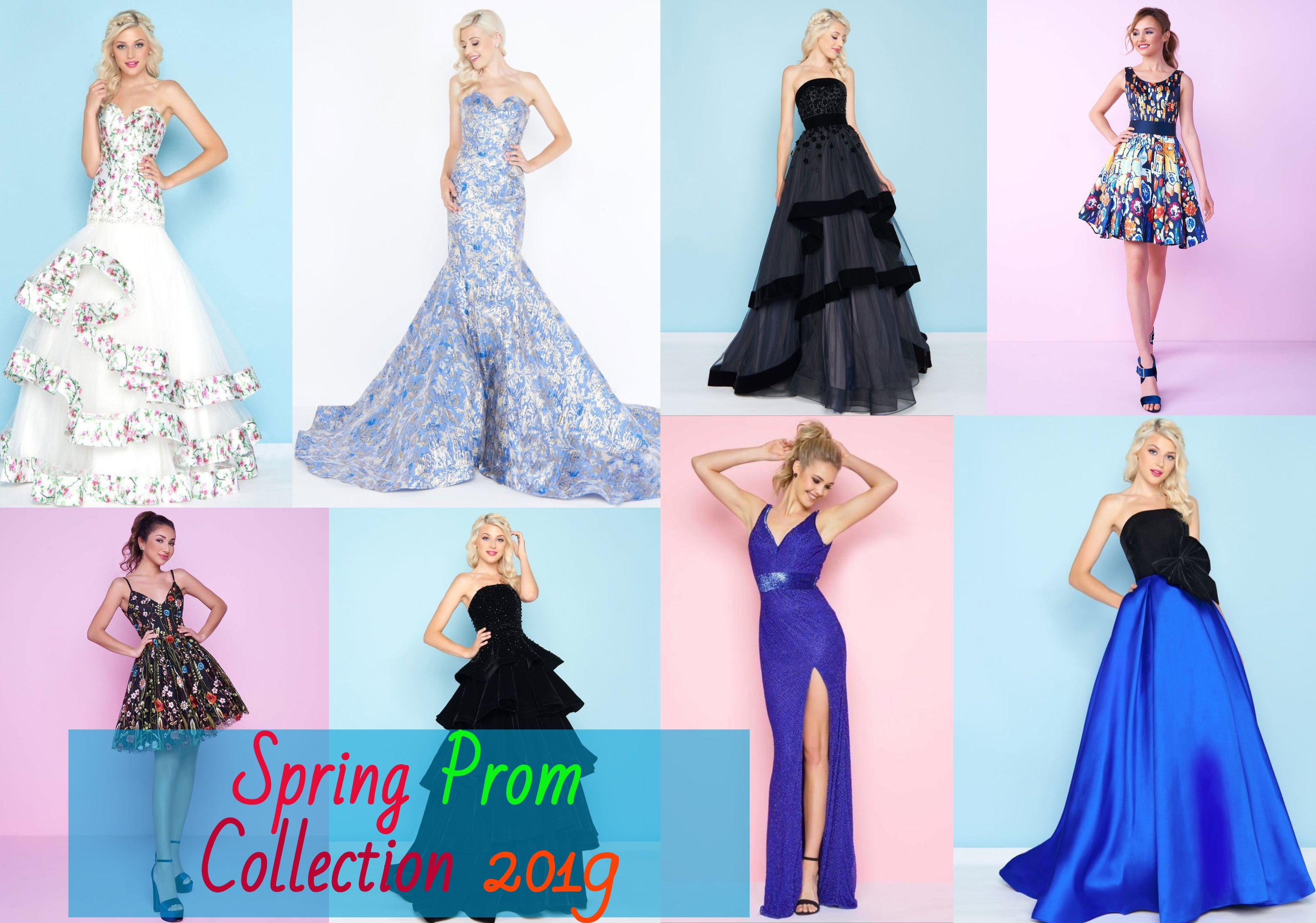 Say Hello To The Spring Season With The Spring Prom Dresses
