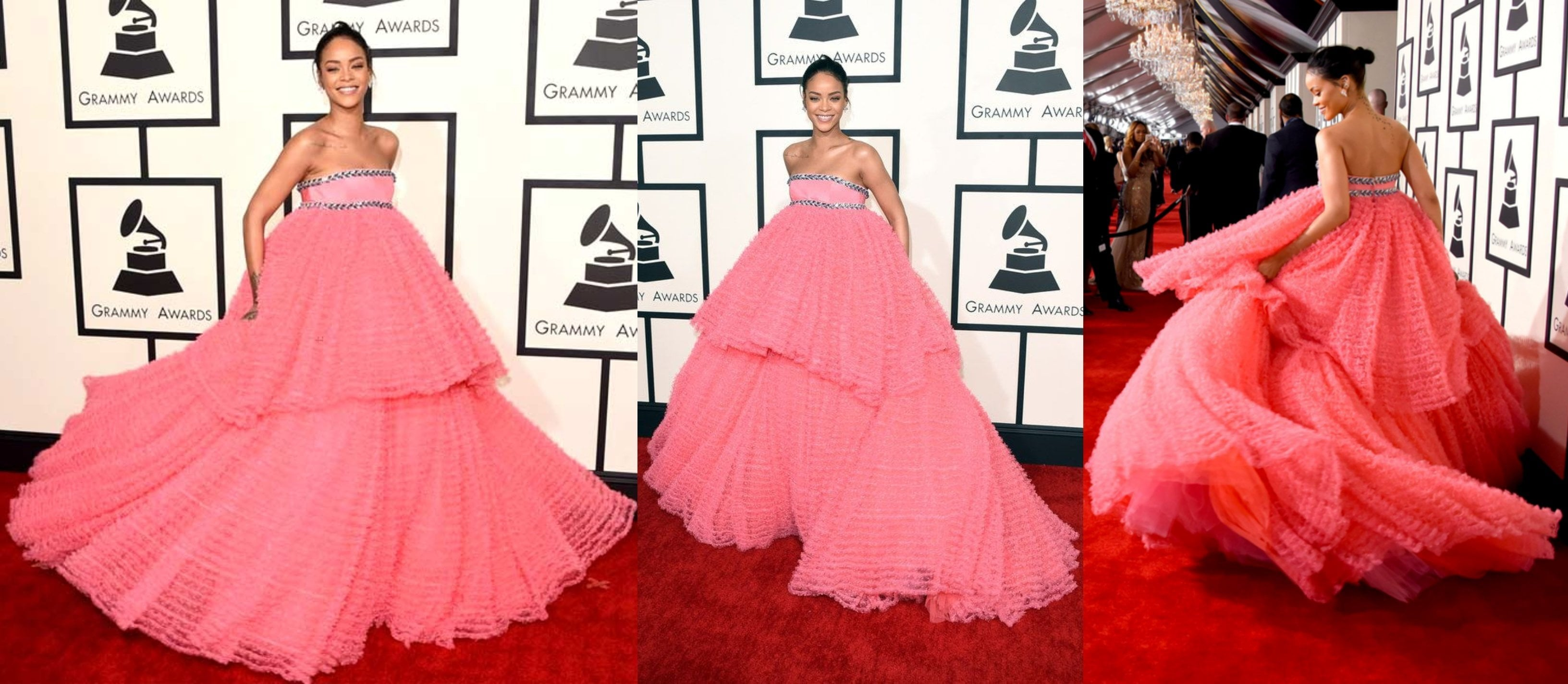 Celebrity Style Ball Gown - Get the Spunk of Rihanna!