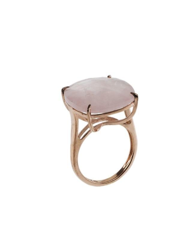 Jarin K Jewelry - Rose Quartz Checkerboard Ring