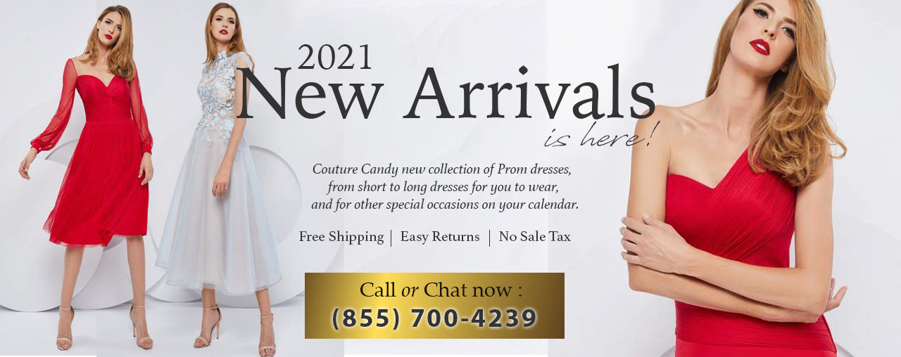 2021 New Arrivals Prom Dresses