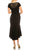 Aidan Mattox - MD1E203805 Beaded Scoop Neck Trumpet High Low Dress Special Occasion Dress
