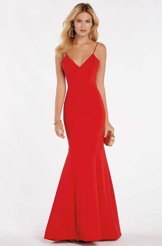 Alyce Paris - 60293 Classy Sleeveless Jersey Mermaid Gown