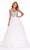 Ashley Lauren - 1991 Embellished Off Shoulder Ballgown Evening Dresses 0 / Ivory