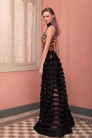 Beside Couture by Gemy - ED 1597SD ED 1598OS Beaded Dress Special Occasion Dress 2 / Multicolor Black