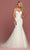 Da Vinci Bridal - 50502 Embroidered Strapless Mermaid Dress Wedding Dresses