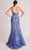 Gatti Nolli Couture - OP5704 Strapless Embroidered Long Gown Evening Dresses