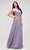 J'Adore - J17040 V Neck A-Line Evening Dress Special Occasion Dress