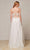J'Adore - J18008 Lace Tulle V Neck A-line Gown Special Occasion Dress