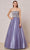 J'Adore - J18029 Strapless Jeweled Bodice A-Line Gown Special Occasion Dress 2 / Lavender