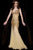 Jasz Couture - 4614 Dress in Gold Special Occasion Dress
