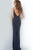 Jovani - 2262 Beaded Plunging V-Neck Sheath Dress Evening Dresses