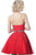 Jovani - JVN1099 Beaded High Halter Neck Lace Applique Cocktail Dress Special Occasion Dress
