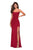 La Femme - 27469 Strappy Scoop Evening Dress with Slit Special Occasion Dress
