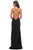 La Femme - 27657 Plunging Crisscross-Strapped High Slit Gown Prom Dresses