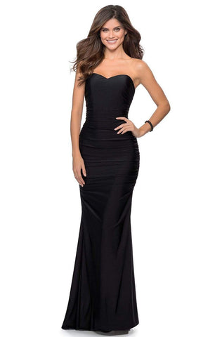 La Femme - 28324 Jersey Sweetheart Evening Dress