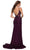 La Femme - 29679 Embellished Lace Deep V Neck Trumpet Dress Special Occasion Dress