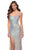 La Femme - 29936 Iridescent Sequin High Slit Dress Special Occasion Dress