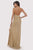 Lara Dresses - 29570 Beaded Plunging Halter Gown with Slit Pageant Dresses