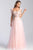 Madison James - 20-343 Embroidered Sweetheart Tulle A-line Gown Prom Dresses 2 / Blush
