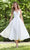 Mori Lee Bridal - 12103 Birdie Braided Strap Satin Wedding Gown Wedding Dresses 0 / Diamond White