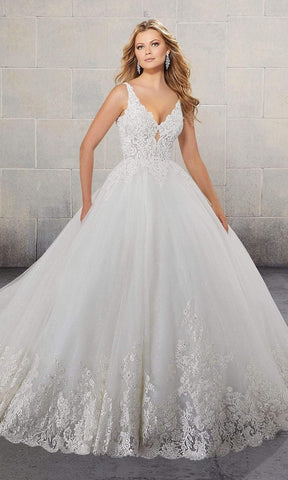 Mori Lee Bridal - 2146 Surim Wedding Dress Wedding Dresses 2 / Ivory