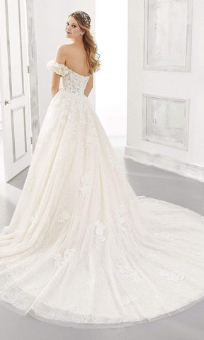 Mori Lee Bridal - 2185 Abigail Wedding Dress Wedding Dresses 0 / White