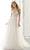 Mori Lee Bridal - 2189 Ariadne Lace Bodice Tulle Wedding Gown Wedding Dresses 0 / Ivory/Crème/Honey