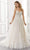 Mori Lee Bridal - 2195 Annabel Frosted Embroidered A-Line Wedding Gown Wedding Dresses 0 / Ivory/Prosecco/Honey
