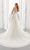 Mori Lee Bridal - 2195 Annabel Frosted Embroidered A-Line Wedding Gown Wedding Dresses