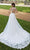 Mori Lee Bridal - 5806 Shani Frosted Lace On English Net Ballgown Wedding Dresses