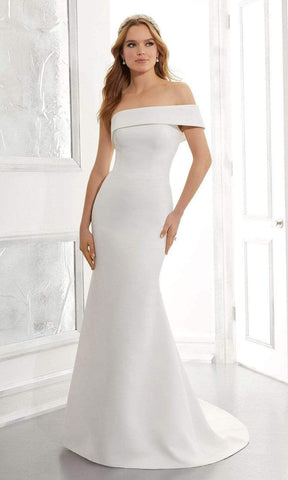 Mori Lee Bridal - 5861 Ada Wedding Dress Wedding Dresses 0 / Ivory