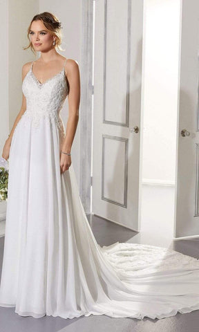 Mori Lee Bridal - 5873 Ailani Wedding Dress