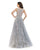 Morrell Maxie - 16234 Beaded Floral A-Line Evening Gown Special Occasion Dress