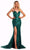 Portia and Scarlett - PS21255 Sweetheart Sequined Sheath Dress Evening Dresses 0 / Emerald
