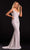Portia and Scarlett - PS21502C Embellished V Neck Trumpet Dress Prom Dresses