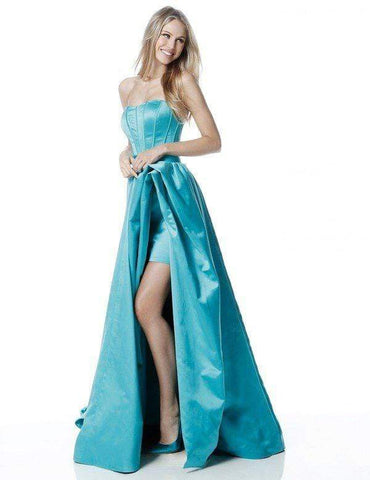 Sherri Hill - 51630 Strapless Semi-Sweetheart A-line Gown