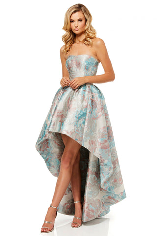 Sherri Hill - 52143 Strapless High-Low Dress