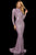 Sherri Hill - 52916 Beaded Long Sleeve Sexy Open Back Dress Special Occasion Dress