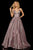 Sherri Hill - 52960 V- Neckline Empire Glitter A Line Dress Special Occasion Dress 00 / Fuchsia/Silver